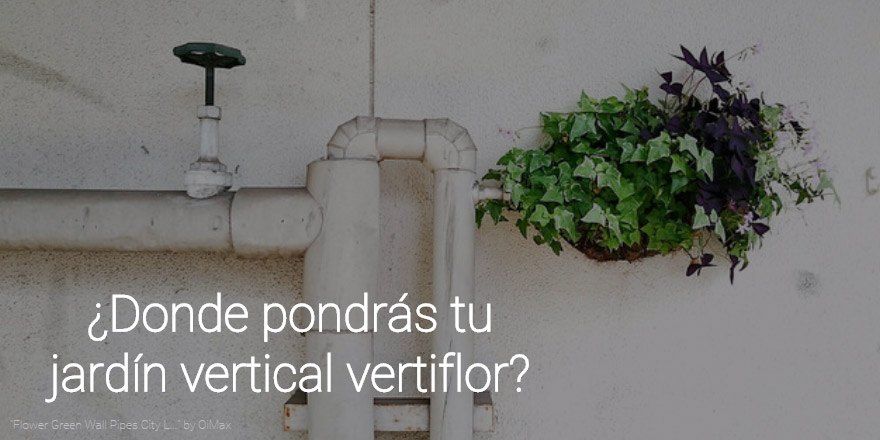 jardín vertical vertiflor