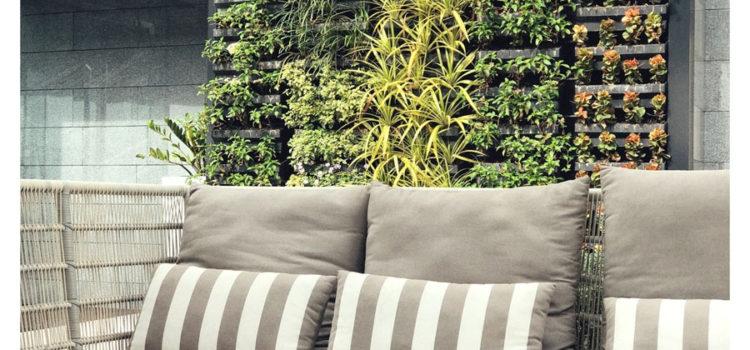jardín vertical, ahorro energético
