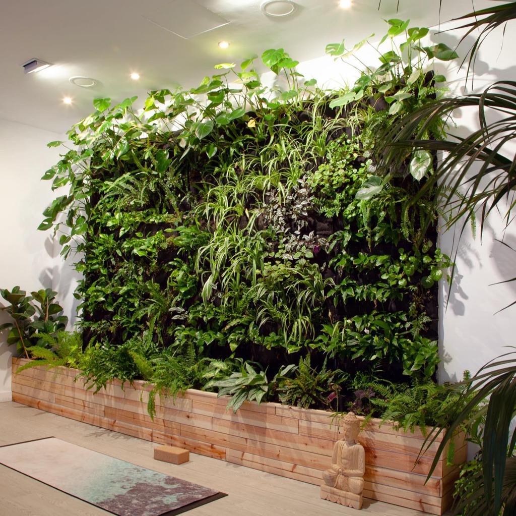 jardín vertical interior Vertiflor